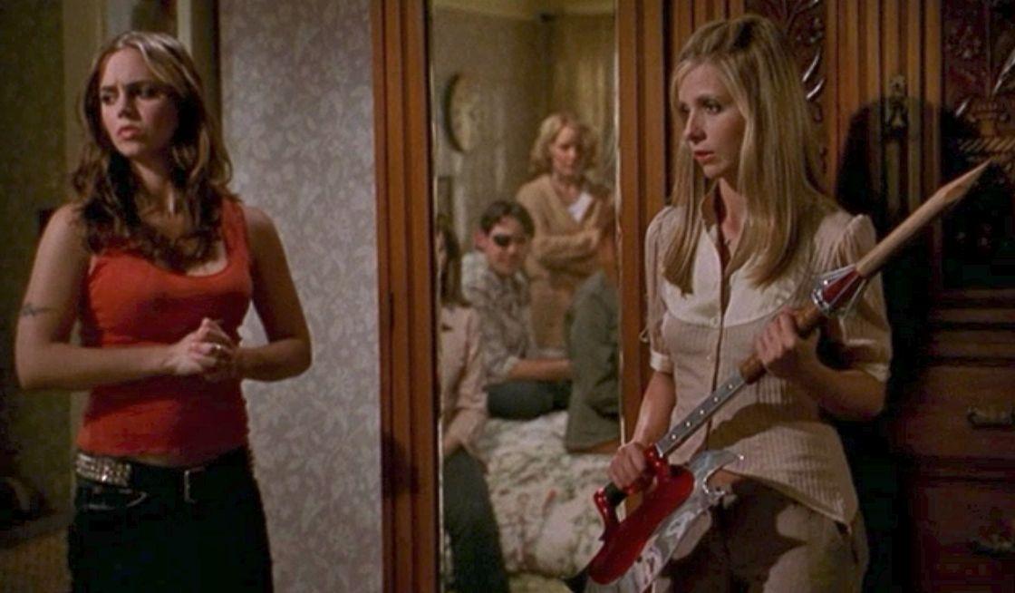Resultado de imagem para Buffy season 07 Faith Returns