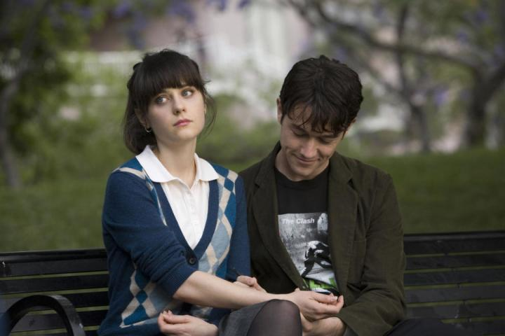 Image result for Zooey Deschanel and Joseph Gordon-Levitt in (500) Days of Summer