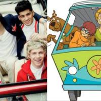Zoinks!: Those Meddling Kids In One Direction As The 'Scooby Doo' Gang