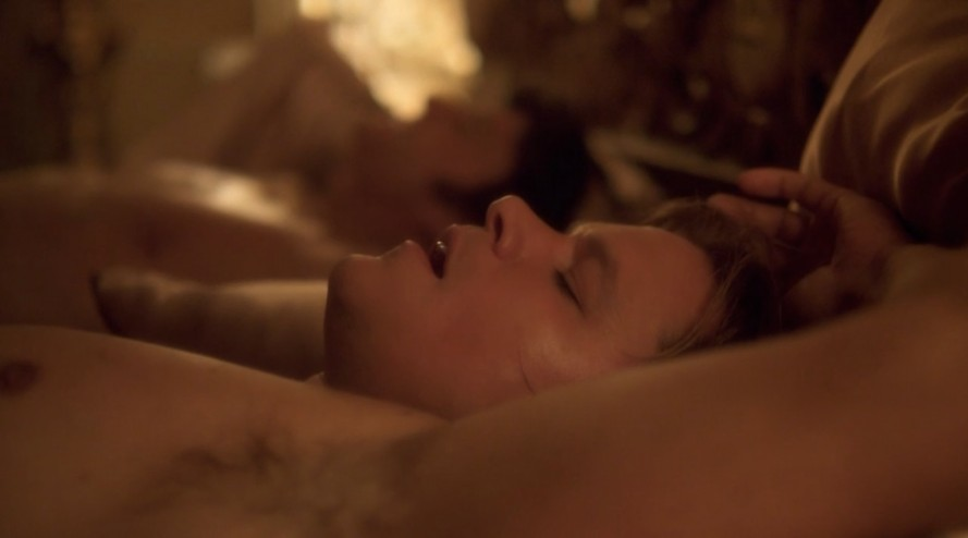 matt damon shirtless behind the candelabra