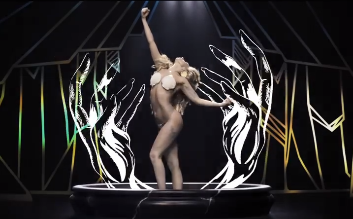 lady-gaga-applause-shell-bra