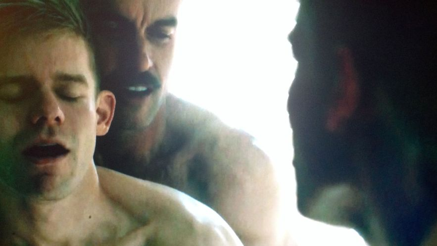 looking-hbo-dom-sex-scene-murray-bartlett-shirtless-naked-andrew-keenan-bolger