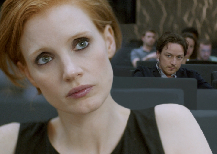 James McAvoy Jessica Chastain