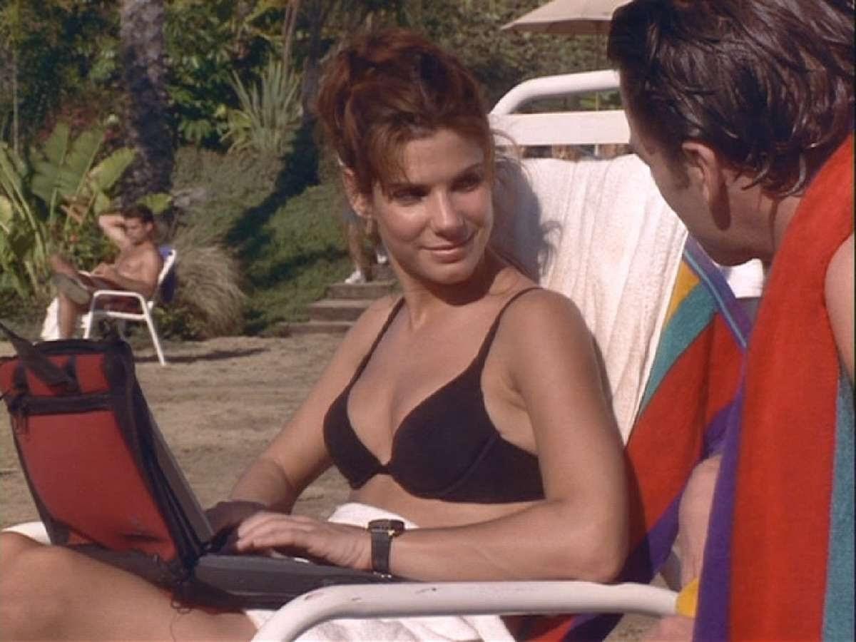 Sandra bullck en bikini