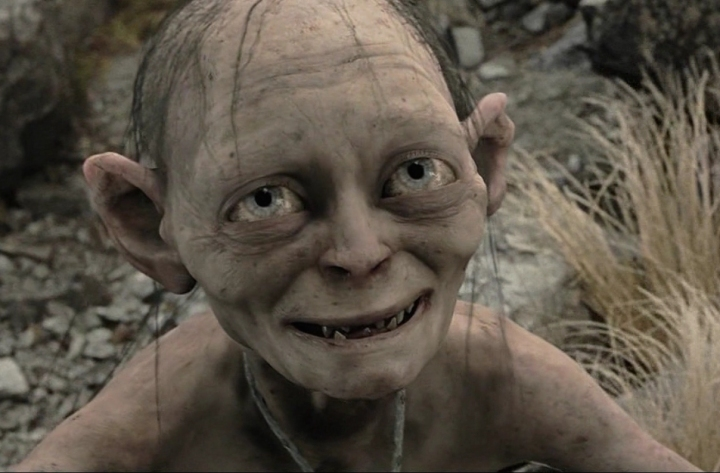 LOTR The Two Towers gollum