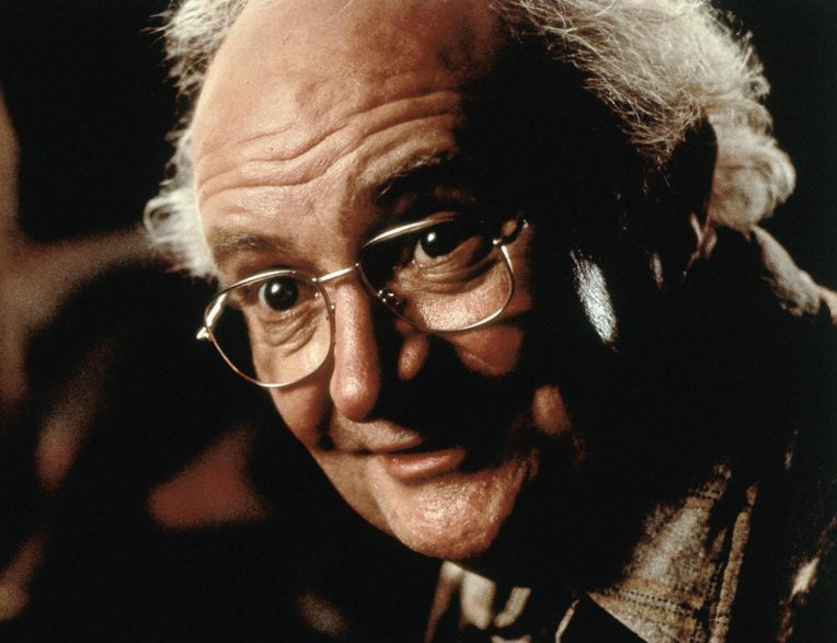 British actor Jim Broadbent is shown in a scene from the film
