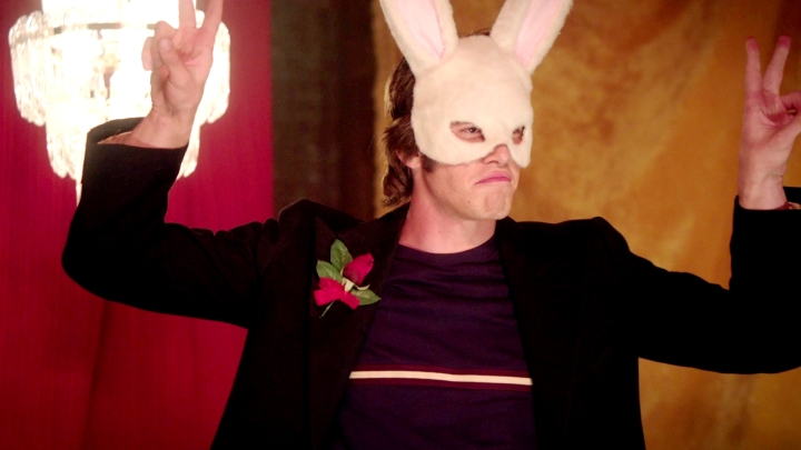 Everybody-Wants-Some-blake-jenner-white-rabbit-mask