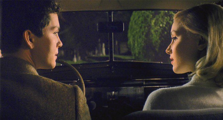 Indignation-Sarah-Gadon-logan-lerman-car