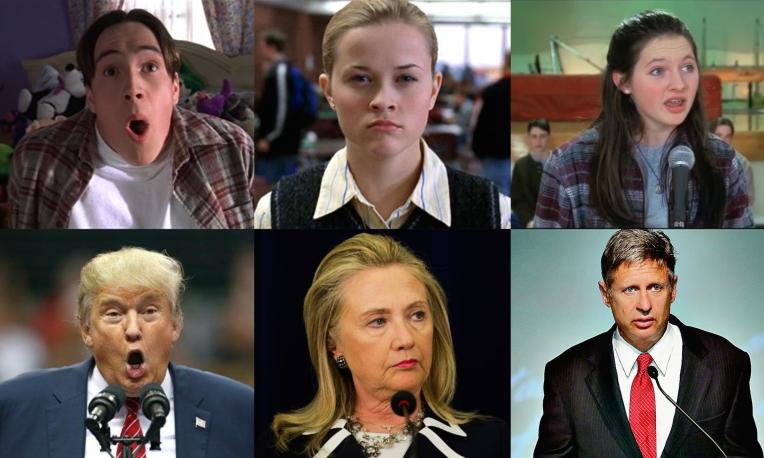 election-candidates-hillary-clinton-tracy-flick-donald-trump-gary-johnson