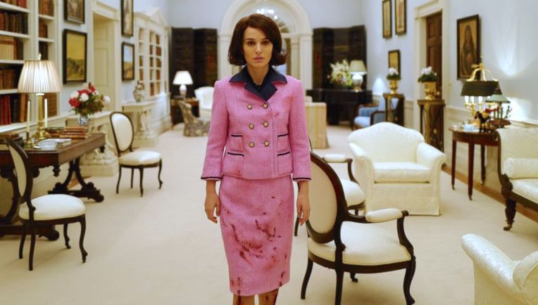 jackie-natalie-portman-pink-dress-blood-stain
