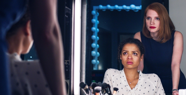 M452 (Left to right.) Gugu Mbatha-Raw and Jessica Chastain star in EuropaCorp's
