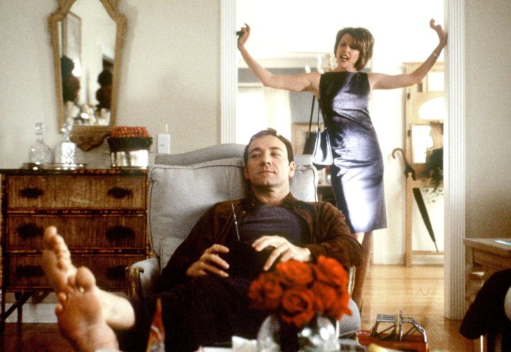 Kevin Spacey And Annette Bening Star In American Beauty Which Received Eight Academy A